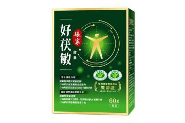 【新品優惠】娘家好茯敏膠囊 國家健康食品雙認證,調節身體體質,2盒88折