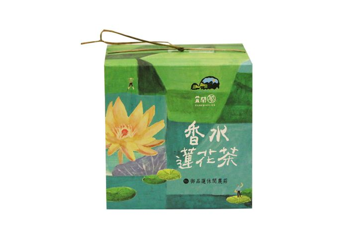 有機香水蓮花茶